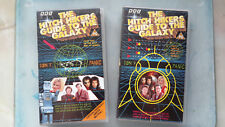 The Hitch Hikers Guide To The Galaxy -Parts 1 & 2 (1992 VHS Video Cassette Tape)