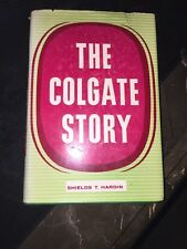 Robert Colgate Genealogy NY THE Colgate STORY 1959 1st EDITION BOOK ILLUSTRATED