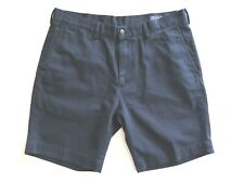 "Polo Ralph Lauren Men's Classic Fit 9"" Navy Chino Shorts Size W34 Mint Condition"