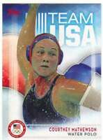 2016 Topps US Olympic Team USA Hopefuls #45 Courtney Mathewson  Water Polo