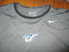 Game Worn TORONTO BLUE JAYS Ernie Whitt Lg Sleeve Workout Shirt XXL Nike Dri Fit