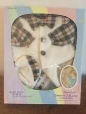 DOLL CLOTHES FOR SWEET AND INNOCENT CUDDLE ME BABIES HERITAGE 20''