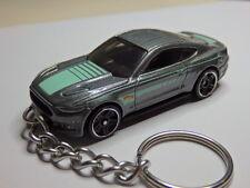 Hot Wheels 2015 FM Ford Mustang GT Model Keychain Keyring Keyfob