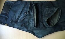 Superb G-Star Scuba Elwood Loose Deep Indigo Denim Jeans. 38W x 36L. (T167)