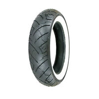 150/80B-16 (77H) Shinko 777 H.D. Rear Motorcycle Tire White Wall