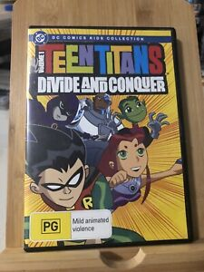 Teen Titans Volume 1 Divide and Conquer Region 4