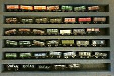 N Gauge 40 X Private Owner Open Mineral Type Wagons Job Lot Farish & Peco VGC