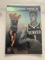 2018-19 Panini Essentials Basketball #230 - Michael Porter Jr RC - Nuggets