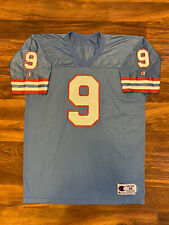 Vintage Houston Oilers Steve McNair #9 NFL Football Champion Jersey Size 48 L