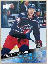 20-21 UD Series 2 Young Guns #467 Calvin Thurkauf Columbus Blue Jackets (3)