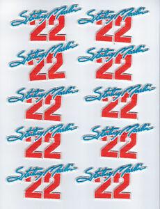 (10) 1990's Sterling Marlin patches patch lot #22 Nascar 1995 Daytona Champ