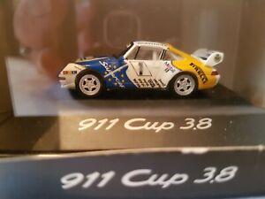 Miniature 1:87 Model Porsche 911 Cup 3.8, Warsteiner edition