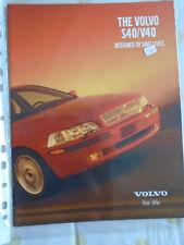 Volvo S40/V40 range brochure May 2000