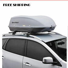 Car Cargo Box Roof Top Carrier Mount Travel Storage Luggage Rack Hard Shell