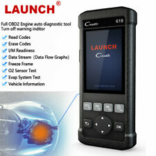 LAUNCH Automotive OBDII Scanner Car Code Reader Engine ABS Airbag SRS Diagnostic