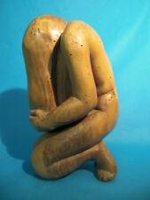 Sculpture en bois des années 30/40 signé JOHINOT