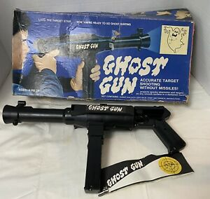 RARE Ghost Gun Hasbro 1974 In Box #5448 With Targets Vintage Toy Not Tested