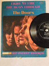 Doors Light My Fire Break On Through NM HIP POCKET soundpage psych