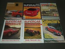 1980'S AUTOSPORT-MOTOR & CAR MAGAZINES LOT OF 15 - GREAT PHOTOS - O 2019