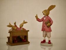 Delightful Easter Decoration Rabbit School Bunny School,Teacher & 2 Hasenkinder