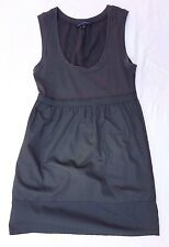 EX CON French Connection Size 10 Dress Grey Sleeveless Casual Pockets Office