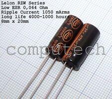 470uf 25v 105c basso ESR Taglia 10mmx16mm NOVER rx1e471mee MATO x10pcs