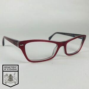 RAY- BAN eyeglasses RED CAT EYE  glasses frame MOD: 52565109