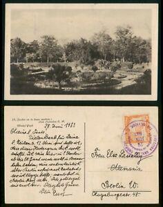 Mayfairstamps El Salvador 1933 to Berlin Germany Real Photo Postcard wwp72865