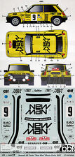 1/24 RENAULT R5 NEW MAN MONTE CARLO 1982 DECAL for TAMIYA