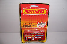 1983 MATCHBOX LESNEY LONDON BUS MOC MADE IN ENGLAND