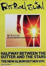 Fatboy Slim 2000 Halfway Between Original UK Promo Poster
