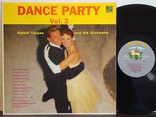 "RAFAEL VARGAS ""Dance Party Vol.2"" VERY RARE 1958 1ST PRESS DG GREY PARIS MONO LP"