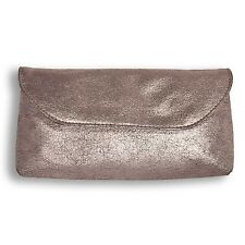 "Bare ESCENTUALS Minerals ""To the Nines"" Pewter Makeup Bag GREAT FOR PROM in wrap"