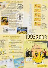 EB 3/2003 Dt.Post Fünfstellige Postleitzahlen (mit 5er-Streifen MiNr.Bund 2344)