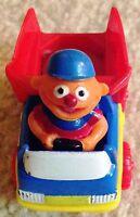 1996 Tyco Preschool Toys Jim Henson Sesame Street Ernie Toy Matchbox Dump truck