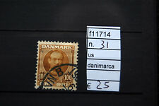 FRANCOBOLLI DANIMARCA USATI N°31 (F11714)