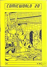 ComicWorld n°20, 1987 NEUF