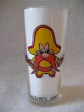 original vintage YOSEMITE SAM Pepsi glass 1970's Warner Brothers cartoon WB nice