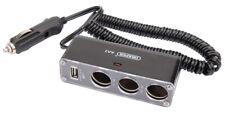 Original Draper 12V Dc 3 Branches Câble D'Extension avec Port USB