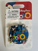 2020 Character WDW Spinner Pin Mickey Minnie Goofy Donald Disney Parks