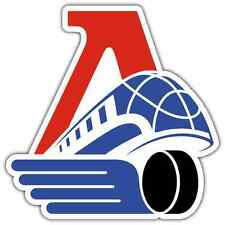 "Lokomotiv Yaroslavl KHL Hockey Car Bumper Window Locker Sticker Decal 4""X5"""