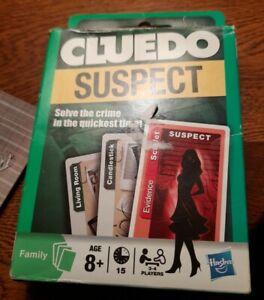 Hasbro Cluedo Suspect Card Game