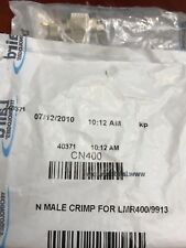 Laird Technology Cn400 N Male Crimp for Lmr400/9913 - Lot of 12