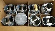 389 PONTIAC PISTONS FORGED 12 TO 1 TRW L2251AF STANDARD BORE 59-66 SET OF 8