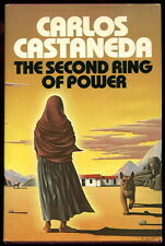 Carlos Castaneda SECOND RING OF POWER 1977 HC/DJ 1st Ed OCCULT don Juan SORCERY