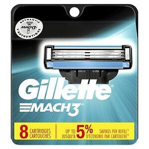 Gillette Mach3 Men's Razor Blade Refills - 8 Count
