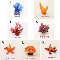 Resin Ornament Fish Tank Decoration Underwater Aquarium Artificial Coral New Pet