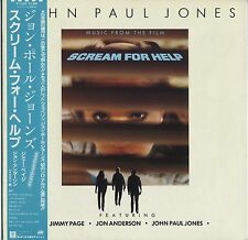 John Paul Jones (Led Zeppelin) - Scream For Help JAPAN LP w/OBI and LYRIC SHEET