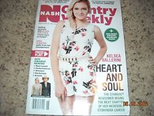 COUNTRY WEEKLY(NASH) MAGAZINE[MAY 2, 2016]KELSEA BALLERINI COVER!LAST ISSUE(READ