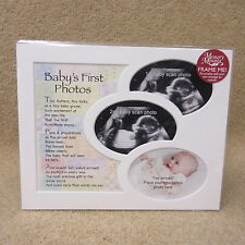 """A Baby's first photo frame mount 10"""" x 8"""""""